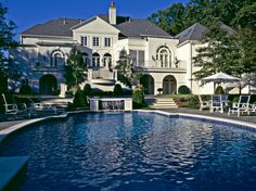 Harrison Design Associates Projects - Beautiful pool and home