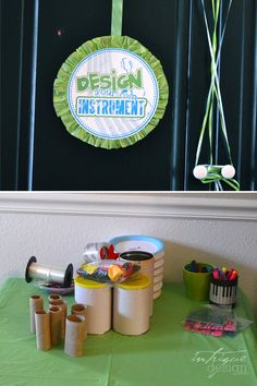 make your own instruments - DIY musical instruments