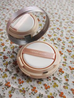"Rosalie & Violetta: Etude House ""Real Powder Cushion"" SPF50+ PA+++  #etudehouse #Beauty #Makeup #cosmetic #skincare"