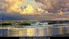 Beach at Atlantic City - William Trost Richards - www.williamtrostrichards.org