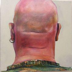 Rear view (Brighton) Oil on canvas