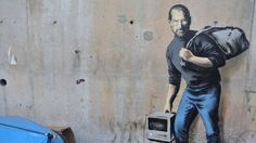 Banksy uses Steve Jobs graffiti to support Syrian refugees http://wp.me/p4dYpx-R6k  via @VarietyLatino