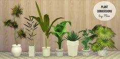 Mio-sims: Plant conversions