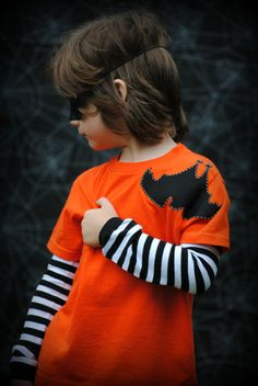 Halloween black Bat hanging upside down on by Onceuponastory, $20.00