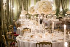 Wow Effect: centerpieces full of flowers