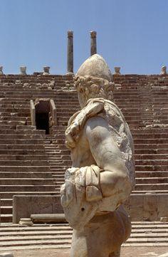 Amphitheater Leptis Magna, Libya