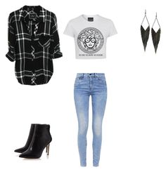"""""""Sem título #437"""" by rosely-bergholz ❤ liked on Polyvore featuring G-Star and GUESS"""