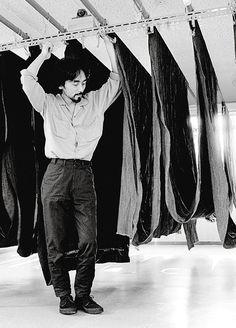 Yohji Yamamoto is my favorite all-time designer..
