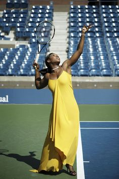 The swinging sisters of tennis, Serena and Venus Williams, raise the stakes of style on the court. West Palm Beach, Venus And Serena Williams, Angeles, Terry Richardson, Tennis Stars, Fashion Articles, Black Girls Rock, Beautiful Black Women, Swagg