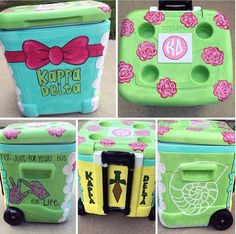 The Kappa Delta cooler me and @bjambrone made got put on Pinterest!