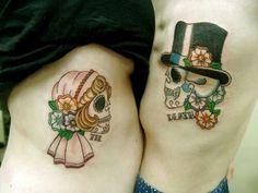 Cute couple tat