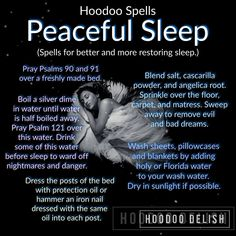 Hoodoo Spells, Magick Spells, Moon Spells, Sleep Spell, Voodoo Hoodoo, Herbal Magic, Protection Spells, The Good Witch, Practical Magic
