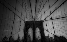 Photo Caught In The Brooklyn Bridge Web by Mohamed El Barkani on 500px
