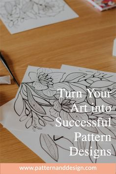 Pattern and Design is the place to get started to learn about creating pattern repeats. Learn lots of tips, tutorials and inspiration for your textile design or surface pattern design business. Kids Patterns, Floral Patterns, Inspiration For Kids, Design Inspiration, Textile Design, Fabric Design, Creative Class, Organic Shapes, Surface Pattern Design