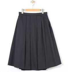 ShopStyle(ショップスタイル): TOMORROWLAND ポリエステルコットン タックミディスカート