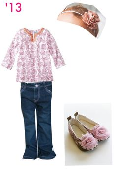Super cute tunic combo!! #adorable #babygirl #floral #pink #neat #classy #comfy