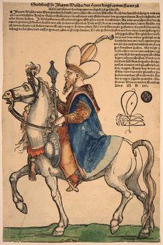 Pargali Ibrahim (1493-1536) portréja Bécs 1529-es sikertelen ostroma alkalmából kiadott egykorú nyomtatványon. Ibrahim görög vagy genovai keresztény családból származott, és rabszolgasorból lett a birodalom második embere, az Oszmán-ház hercege és Szulejmán sógora