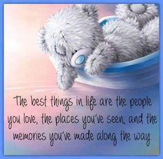 Best things in life Cute Teddy Bear Pics, Teddy Bear Quotes, Cute Bears, Sweet Quotes, Cute Quotes, Sweet Sayings, Son Quotes, Teddy Bear Pictures, Teddy Images