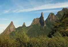 Dedo de Deus, com 1.692 metros de altitude: Parque Nacional da Serra dos Órgãos