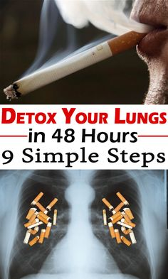 Detox your lungs in 48 hours with a miraculous recipe for smokers and non-smokers! Find out in this article how to do it correctly.