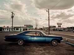 Road picture by Christopher Anderson - Magnum