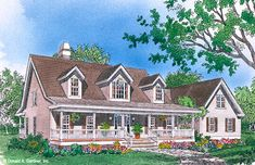 Home Plan The Dunwood by Donald A. Gardner Architects