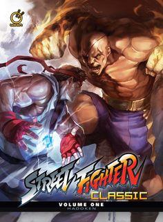 Ryu vs Sagat.
