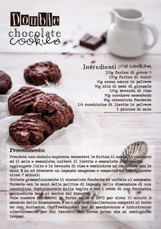 ricetta biscotti vegan doppio cioccolato