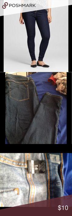 Mossimo jegging jeans dark wash Mossimo jegging said, dark wash, size 14 Mossimo Supply Co Jeans Skinny