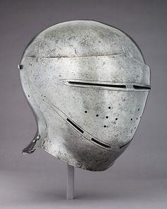 Visored Sallet Date: ca. 1500 Culture: German Medium: Steel Dimensions: H. 10 3/4 in. (27.3 cm); W. 9 1/2 in. (24.1 cm); D. 10 1/2 in. (26.7 cm); Wt. 4 lb. 5.9 oz. (1981.6 g)