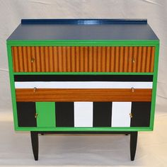 Up-cycled Vintage 'Atomic' Chest Of Drawers