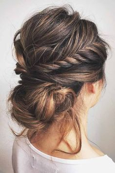 63 Amazing Braid Hairstyles for Party and Holidays ★ Braided Updo Ideas for Long Hair Picture 2 ★ See more: http://glaminati.com/christmas-party-braid-hairstyles/ #christmashair #winterhair #braidhairstyle