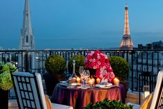 A The Penthouse Suite do Four Seasons Hotel, George V, Paris - Fornecido por AFPRelaxNews