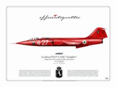 "F-104G 4-27 ""Ferrari"" 4°Stormo AMI"
