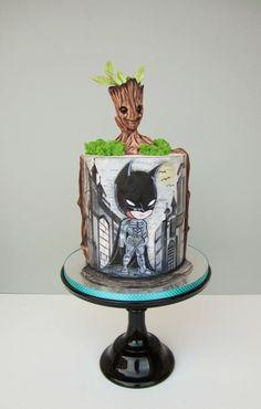 Birthday cake - cake by daruj tortu Mini Tortillas, Chocolates, Cake Decorating For Beginners, Cake Decorating Piping, Buttercream Flower Cake, Hand Painted Cakes, Superhero Cake, Wedding Cake Inspiration, Novelty Cakes