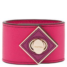mechon leather cuff | Oroton Luxury Accessories