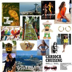 """Carioca style - Rio de Janeiro"" by amorimms on Polyvore"