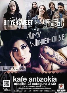 MISSISSIPPI QUEEN & THE WET DOGS / BERTA BITTERSWEET | Kafe Antzokia, Izar & Star 2017, Bilbao, 23/II/2017 | Cartel de Mississippi Queen & The Wet Dogs y Berta BiterSweet (Izar & Star homejane a Amy Winehouse) | GALERÍA completa || Full GALLERY: | http://denaflows.com/galerias-de-fotos-de-conciertos/m/mississippi-queen-the-wet-dogs/