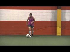 Christie Rampone Soccer Tip #2 - Speed Dribbling - YouTube