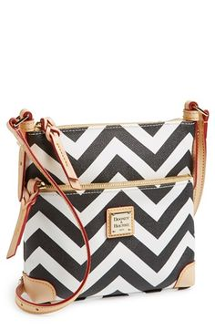 Dooney & Bourke 'Chevron -Letter Carrier' Crossbody Bag available at #Nordstrom