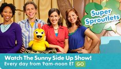 PBS Sprout for kids...