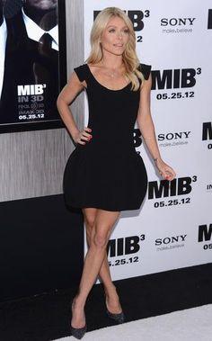Kelly Ripa in Casadei at the MIB 3 premiere