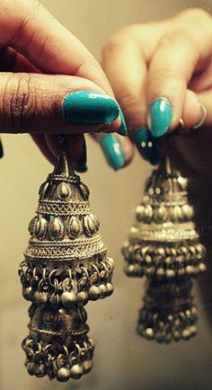 Rajasthani Jhumka's at Viva Mall - Traditional Rajasthani inspired jhumka's :)