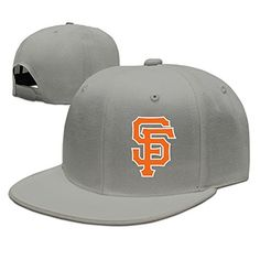 Show Time Giant SF Logo Unisex Trucker Cap Snapback Flat Bill Hat Ash *** Read more reviews of the product by visiting the link on the image.