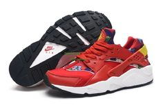 710d57238c040 Soldes L officiel Femme Nike Air Huarache OG GS Baskets Rouge Print Soldes  from Reliable Big Discount !