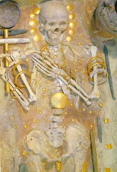 Varna Burial - Bulgaria 4100 BC...wow!..this is quite interesting and symbolic indeed!..the Varna culture is a record holder...the oldest golden treasure in the world was discovered  in Varna Necropolis of artifacts dating 4750 BC...