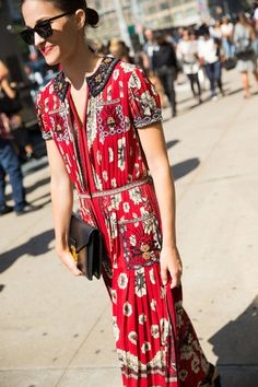 218 Stunning Street Style Looks From New York Fashion Week