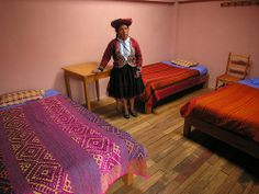 ANS166DSCN3469   >>>>>   In Chinchero near Cusco Sonia Huaman got rooms for tourists, Peru
