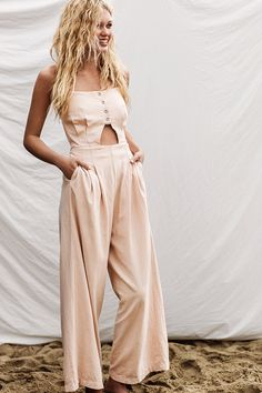 Browse the best summer jumpsuit inspiration and products   Marbella Cutout One Piece, $128; at Free People