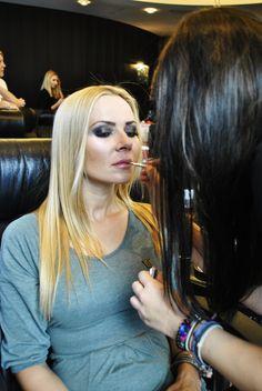 #isadora #makeup #mascara #eyes #eye #fashionshow #lashes #blonde #hair #model #models #makijaż #poland